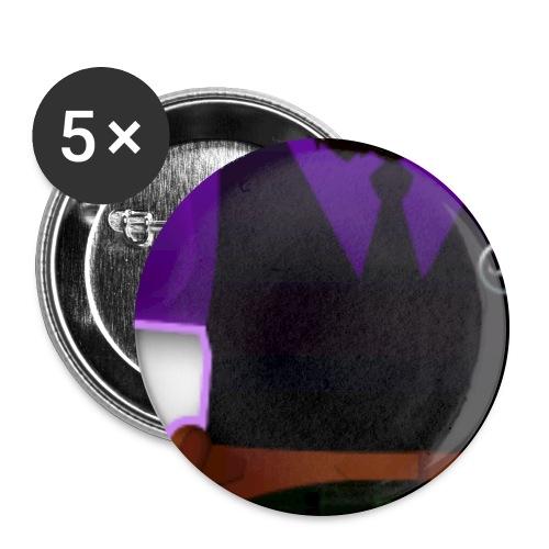pin up dr loki t shirt3 png - Lot de 5 grands badges (56 mm)