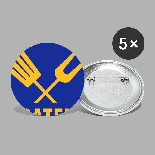 Braten-Verarbeiter - Buttons groß 56 mm (5er Pack)