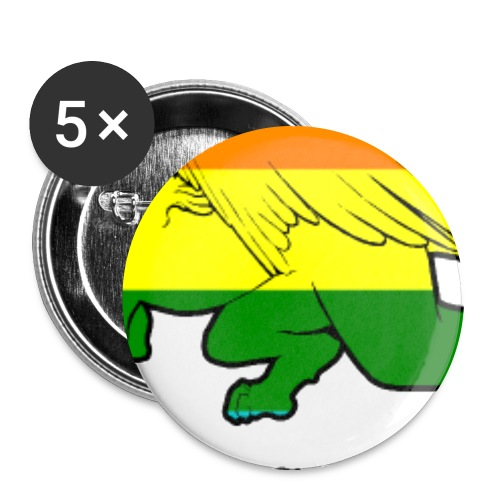 Esfinges Pride - Buttons large 2.2''/56 mm (5-pack)