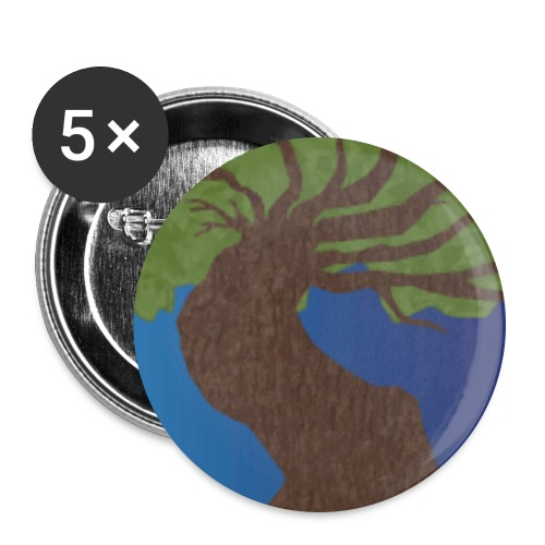 logo png - Buttons large 2.2''/56 mm (5-pack)