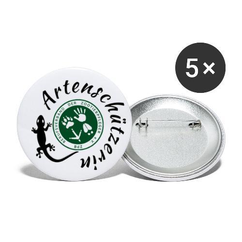 Artenschützerin - Buttons groß 56 mm (5er Pack)