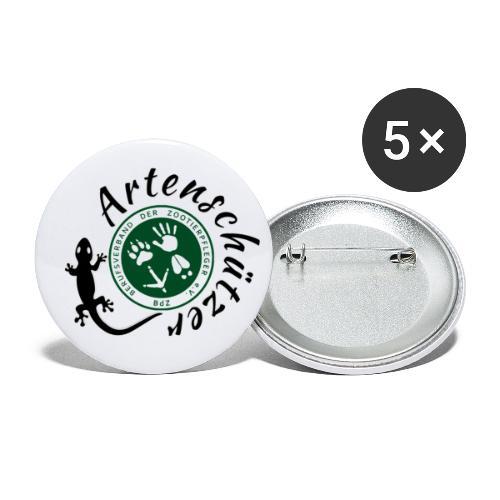 Artenschützer - Buttons groß 56 mm (5er Pack)