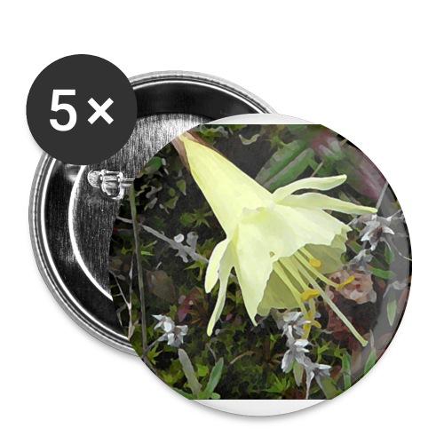 Naturaleza - Paquete de 5 chapas grandes (56 mm)