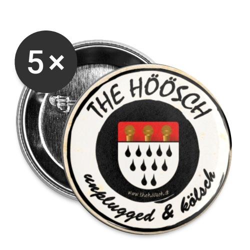 Höösch Logo - Buttons groß 56 mm (5er Pack)