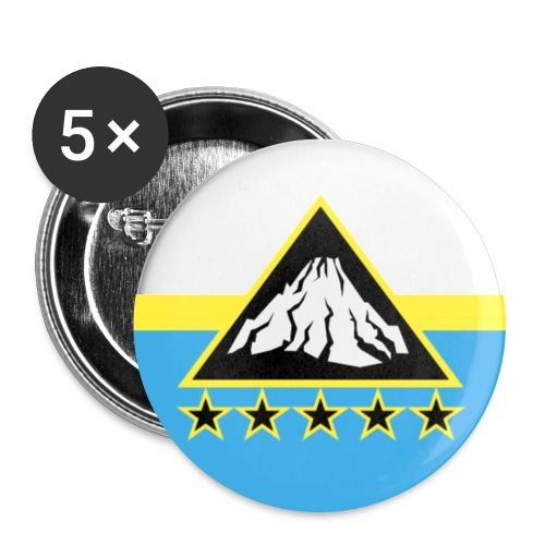 Etna Badge png - Buttons large 2.2''/56 mm(5-pack)