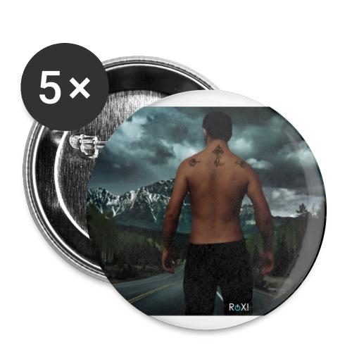 RoX! Walking 2.o - Confezione da 5 spille grandi (56 mm)