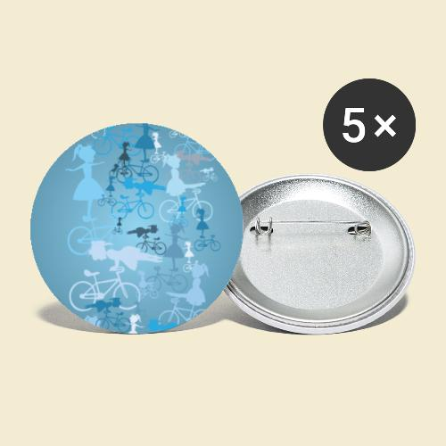 Kunstrad | Artistic Cycling Handy Hülle 01 - Buttons groß 56 mm (5er Pack)