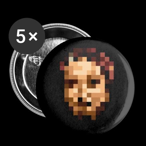 Accessoires PIXELFACE - Buttons groß 56 mm (5er Pack)