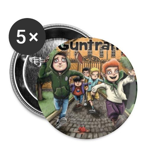 DuG-Band1-Kurztitel - Buttons groß 56 mm (5er Pack)