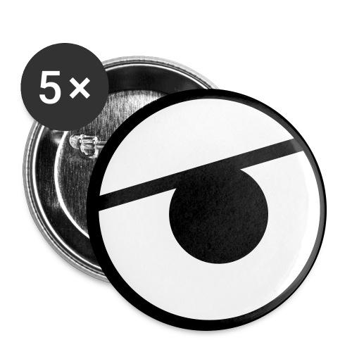 Kure Kure Eyes - Stora knappar 56 mm (5-pack)
