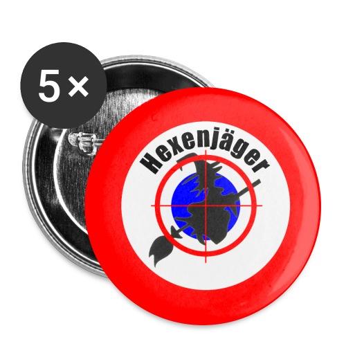 Hexenjäger jpg - Buttons groß 56 mm (5er Pack)