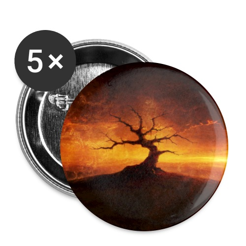 Shylmagoghnar Circle - Buttons large 2.2''/56 mm (5-pack)