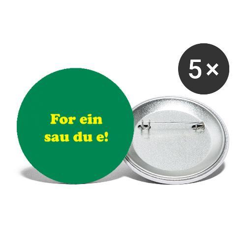 buttonsforeinsau - Stor pin 56 mm (5-er pakke)