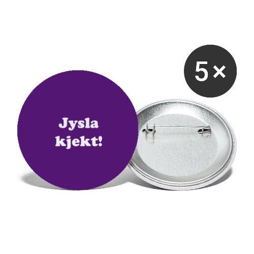 buttonsjyslakjekt - Stor pin 56 mm (5-er pakke)
