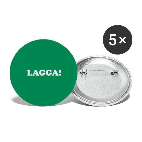 buttonslagga - Stor pin 56 mm (5-er pakke)