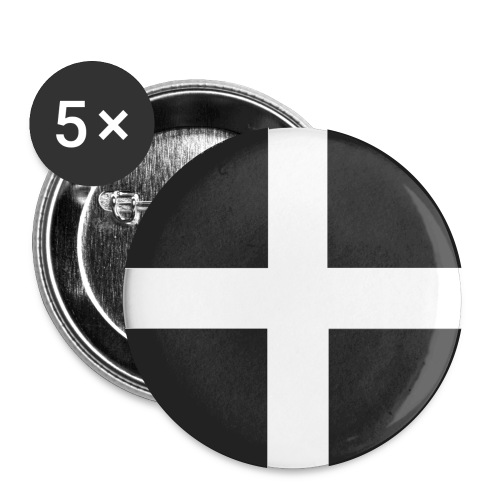 I m Cornish and Proud - Buttons large 2.2''/56 mm (5-pack)