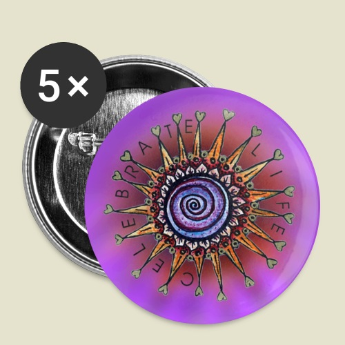 UntersetzerCL-png - Buttons groß 56 mm (5er Pack)