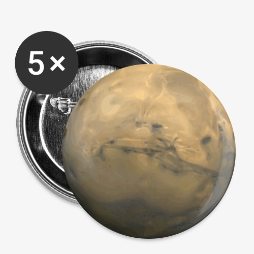 mars 153566 png - Buttons groß 56 mm (5er Pack)
