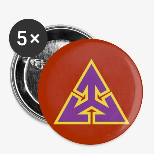 The Federation Emblem - Buttons large 2.2''/56 mm (5-pack)