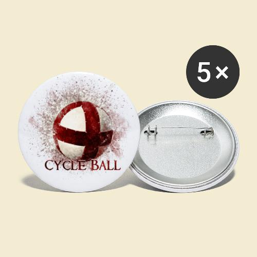 Radball | Cycle Ball - Buttons groß 56 mm (5er Pack)