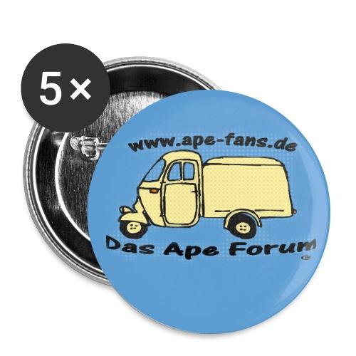 forumlogo gross - Buttons groß 56 mm (5er Pack)