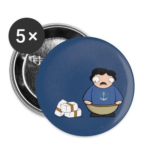 Chapa Pablito - Paquete de 5 chapas grandes (56 mm)
