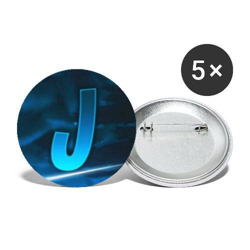 JustOnlyAPlayer Logo - Buttons groß 56 mm (5er Pack)