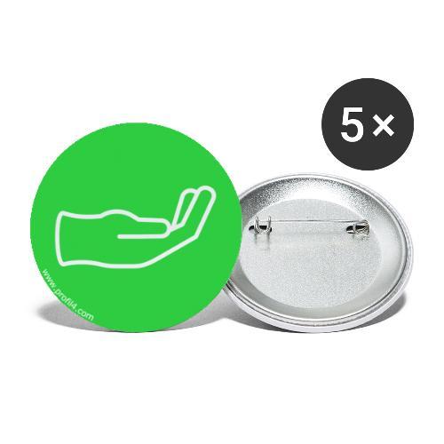 Main Stable DISC - Lot de 5 grands badges (56 mm)