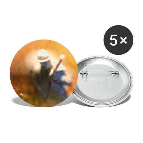 Framåt - Stora knappar 56 mm (5-pack)