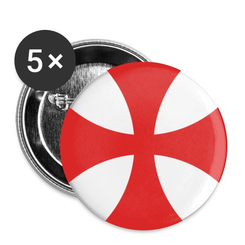 templer - Buttons groß 56 mm (5er Pack)