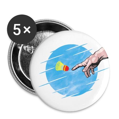 Crossminton, une divine création - Buttons large 2.2''/56 mm(5-pack)