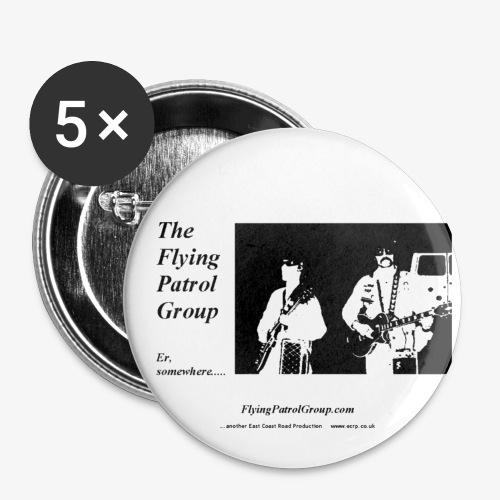 fpg er bw - Buttons large 2.2''/56 mm(5-pack)