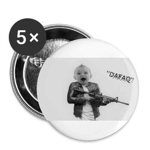 Sov Mina Små Älsklingar - Stora knappar 56 mm (5-pack)