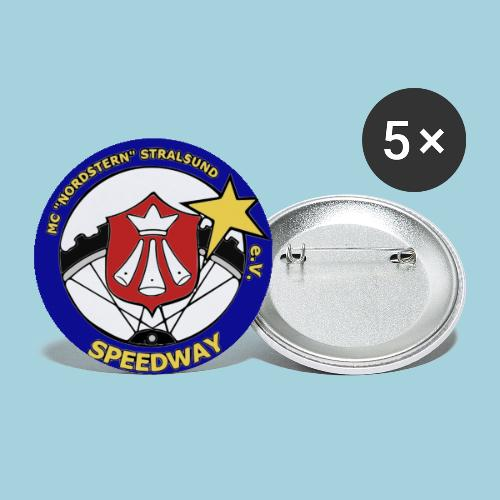 MCN Logo - Buttons groß 56 mm (5er Pack)