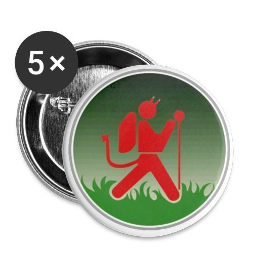 teufelpsd gif - Buttons groß 56 mm (5er Pack)