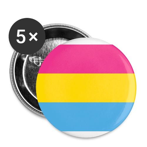 Pansexual - Rintamerkit isot 56 mm (5kpl pakkauksessa)