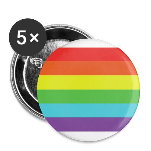 Pride - Rintamerkit isot 56 mm (5kpl pakkauksessa)