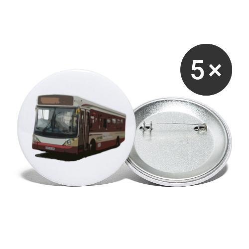 kettybus - Buttons large 2.2''/56 mm(5-pack)