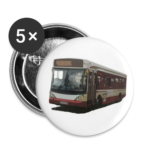 kettybus - Buttons large 2.2''/56 mm (5-pack)