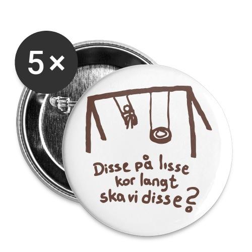 disse p lisse liten - Stor pin 56 mm (5-er pakke)