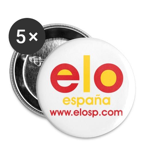Gorra ELOSP - Paquete de 5 chapas grandes (56 mm)