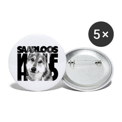 Saarloos Wolfhond II - Rintamerkit isot 56 mm (5kpl pakkauksessa)