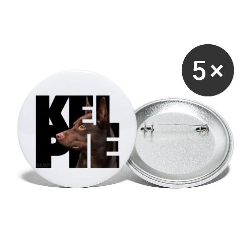 Kelpie II - Rintamerkit isot 56 mm (5kpl pakkauksessa)