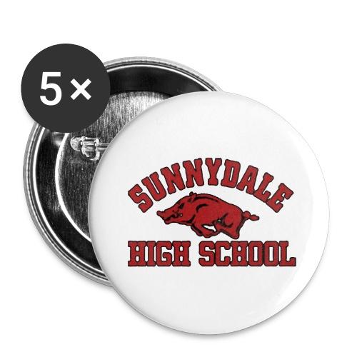 Sunnydale High School logo merch - Buttons groot 56 mm (5-pack)