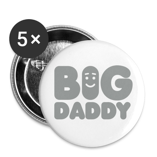 Big Daddy - Buttons groot 56 mm (5-pack)