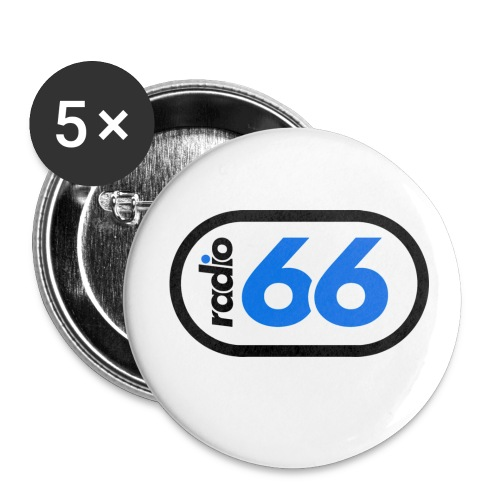 ohne png - Buttons groß 56 mm (5er Pack)