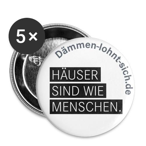 11 - Buttons groß 56 mm (5er Pack)