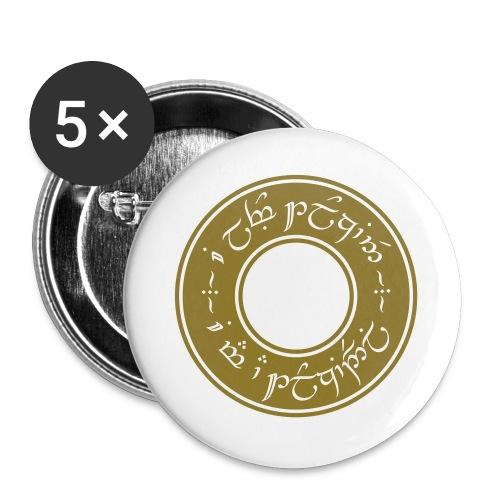 I am a Tolkiendil - Lot de 5 grands badges (56 mm)