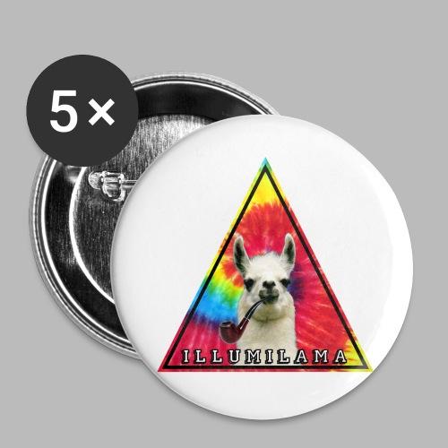 Illumilama logo T-shirt - Buttons large 2.2''/56 mm(5-pack)