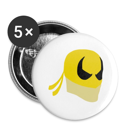 Iron Fist Simplistic - Buttons large 2.2''/56 mm(5-pack)